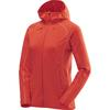 Haglöfs LIMBER HOOD WOMEN Naiset - REAL RED