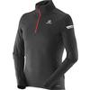 Salomon AGILE 1/2 ZIP MID M Miehet - BLACK