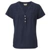 Royal Robbins ISLANDER COOL MESH S/S Naiset - DEEP BLUE