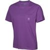 Haglöfs PIKE TEE Miehet - IMPERIAL PURPLE