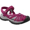 Keen ROSE SANDAL Naiset - BEET RED/NEUTRAL GREY