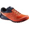 Salomon SENSE PRO 2 Miehet - TOMATO RED/BLACK/NAVY WIL