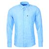 Barbour LINEN 1 TAILORED Miehet - BLUE