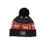 Picture Organic Clothing HANDSAW BEANIE Unisex - NAVY/RED