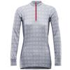 ALNES WOMAN HALF ZIP NECK 1