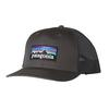 Patagonia P6 TRUCKER HAT Unisex - FORGE GREY