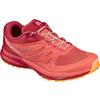 Salomon SENSE PRO 2 W Naiset - LIVING CORAL/POPPY RED/BRIGHT