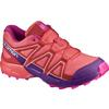 Salomon SPEEDCROSS J Lapset - LIVING CORAL/ACAI/ROSE V