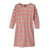 Patagonia W' S SEATOLLER DRESS Naiset - MIDNIGHT STRIPE: STATIC RED