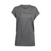 Icebreaker WMNS ARIA SS TUNIC BLADE Naiset - METAL