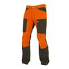 Sasta HAIKKI TROUSERS Miehet - ORANGE/DARK OLIVE