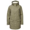 FRILUFTS RODEBAY PADDED LONGJACKET WOMEN Naiset - OLIVE NIGHT