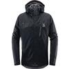 Haglöfs ASTRAL JACKET MEN Miehet - TRUE BLACK
