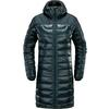 Haglöfs BIVVY DOWN PARKA WOMEN Naiset - TRUE BLACK SOLID