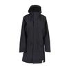 Tretorn RAIN JACKET FROM THE SEA PADDED W Naiset - DEEP END BLACK