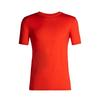 Icebreaker MENS TECH LITE SS CREWE Miehet - CHILI RED
