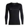MENS 200 OASIS DELUXE RAGLAN LS CREWE SINGLE LINE SKI 1