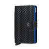 Secrid MINIWALLET - CUBIC BLACK-BLUE