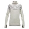 Devold ONA WOMAN ROUND SWEATER Naiset - OFFWHITE