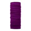 Buff LIGHTWEIGHT MERINO WOOL BUFF Unisex - PURPLE RASPBERRY