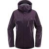 Haglöfs ASTRAL JACKET WOMEN Naiset - ACAI BERRY