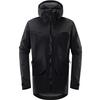 Haglöfs GRYM EVO JACKET MEN Miehet - TRUE BLACK