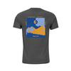 Marmot VALLEMAR TEE SS Miehet - CHARCOAL HEATHER