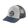 Patagonia FITZ ROY SCOPE LOPRO TRUCKER HAT Unisex - WHITE