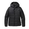 Patagonia W' S DOWN SWEATER HOODY Naiset - BLACK