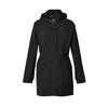 Royal Robbins OAKHAM WATERPROOF TRENCH Naiset - JET BLACK