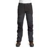 Is Not Enough ATHENA TREKKING PRO PANTS Naiset - JET BLACK