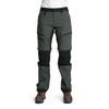Is Not Enough ARETE ZIPOFF PANTS Naiset - DARK SHADOW