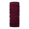 Buff LIGHTWEIGHT MERINO WOOL BUFF Unisex - SOLID WINE
