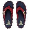 Gumbies ISLANDER CANVAS FLIP-FLOPS Unisex - NAVY COAST