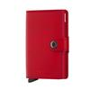 Secrid MINIWALLET - ORIGINAL RED-RED