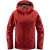 Haglöfs ASTRAL JACKET WOMEN Naiset - BRICK RED