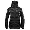 Haglöfs ESSENS DOWN HOOD WOMEN Naiset - TRUE BLACK/MAGNETITE