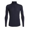 Icebreaker MENS 150 ZONE LS HALF ZIP Miehet - MIDNIGHT NAVY