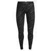 Icebreaker WMNS 250 VERTEX LEGGINGS SNOW STORM Naiset - BLACK