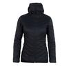 Icebreaker WMNS HYPERIA HOODED JACKET Naiset - BLACK