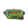 Patagonia ULTRALIGHT BLACK HOLE MINI HIP PACK Unisex - PATCHWORK: PEPPERGRASS GREEN