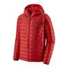 Patagonia M' S DOWN SWEATER HOODY Miehet - FIRE W/FIRE