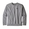 Patagonia M' S P-6 LABEL UPRISAL CREW SWEATSHIRT Miehet - GRAVEL HEATHER
