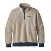 Patagonia M' S WOOLYESTER FLEECE P/O Miehet - OATMEAL HEATHER