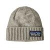 Patagonia BRODEO BEANIE Unisex - P-6 LOGO: DRIFTER GREY