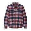 Patagonia W' S L/S FJORD FLANNEL SHIRT Naiset - UPRIVER: LIGHT BALSAMIC