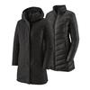Patagonia W' S TRES 3-IN-1 PARKA Naiset - BLACK