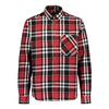 Sasta MIDLAND HEAVY FLANNEL SHIRT Miehet - TRUE RED