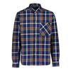 Sasta MIDLAND HEAVY FLANNEL SHIRT Miehet - PATRIOT BLUE