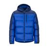 Marmot GUIDES DOWN HOODY Miehet - SURF/ARCTIC NAVY